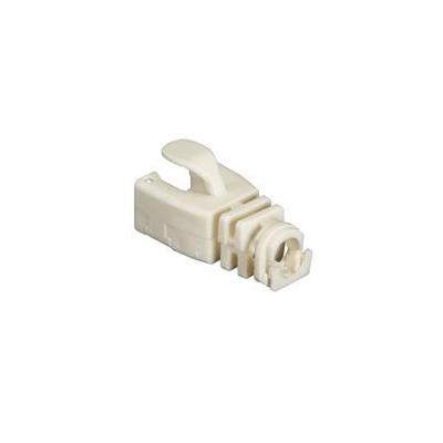 Black Box Snap-On Patch Cable Boot, 50-Pack, Beige Kabelbeschermer