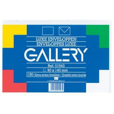 Gallery envelop: Ft 90 x 140 mm, 95 g/m2 - Wit
