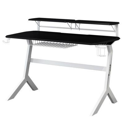 LC-Power 130 x 70 cm, metal, MDF, black, white Bureau - Zwart, Wit