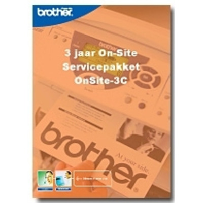 Brother Service Pack: OnSite-3C Garantie