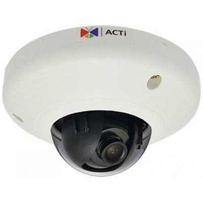 "Acti beveiligingscamera: 3MP, 1080p, 30 fps, 1/3.2"" CMOS, Fast Ethernet, PoE, 2.91 W, 202 g - Wit"