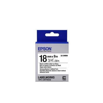 Epson LK-5WBW Labelprinter tape