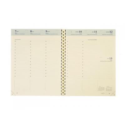 Brepols agenda: Interieur Timing spiraal 6-t