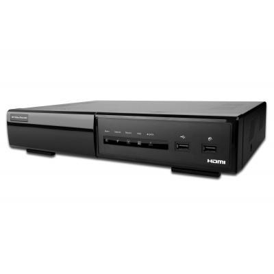 Assmann electronic digitale video recorder: 8CH 720P PoE NVR. 1 HDD Bay - Zwart