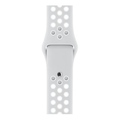 Apple : 38mm Pure Platinum/White Nike