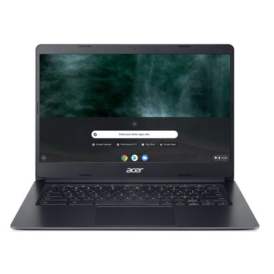"Acer Chromebook 314 C933LT-P3G5 14"" Touch Pentium Silver 8GB RAM 64GB eMMC 4G LTE - QWERTY Laptop - Zwart"