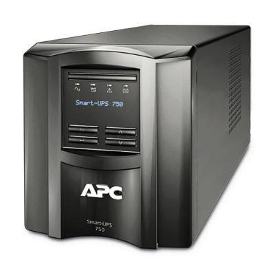 Apc UPS: Smart-UPS 750 VA - Zwart