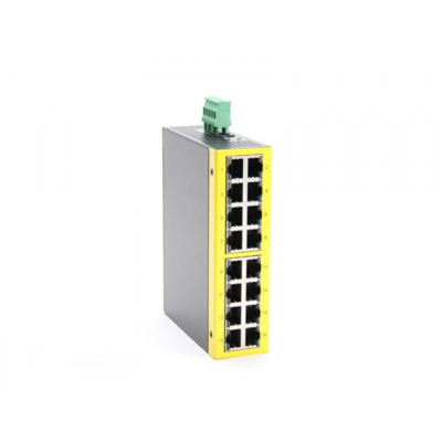 KTI Networks 10/100 Unmanaged. LAN poorten: 16 x 10/100 Mbps, RJ-45. Box 1 stk Switch - Zwart