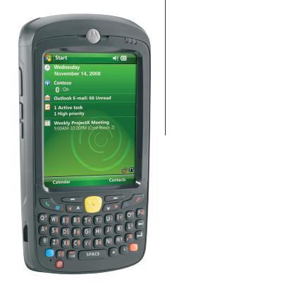 Zebra PDA: MC55A0 - Zwart, QWERTY