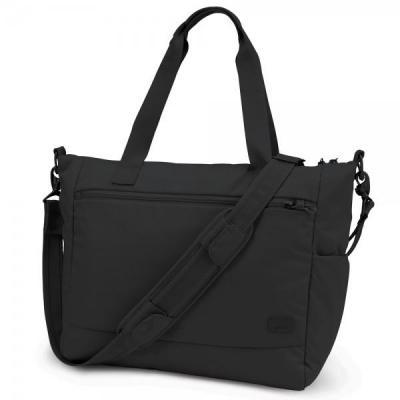 Pacsafe vrouwen-handtas: CS400 - Zwart