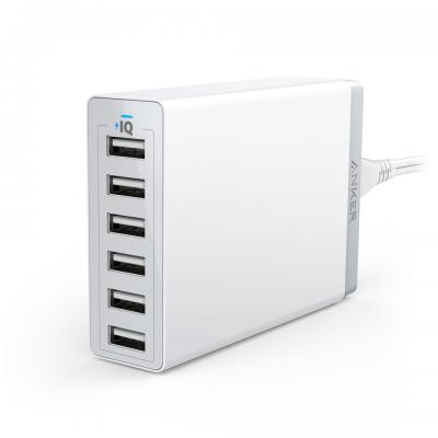 Anker PowerPort 6 Oplader - Wit