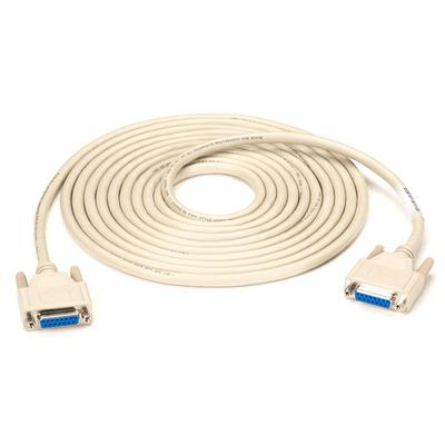 Black Box DB15/DB15, 6-m Seriele kabel - Beige
