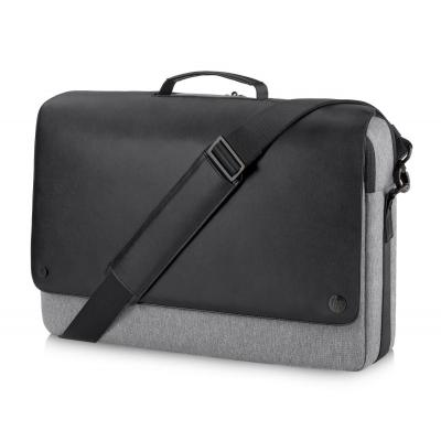 "Hp laptoptas: Executive Messenger 15.6"" - Zwart, Grijs"
