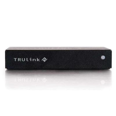 C2g AV extender: TruLink - Zwart