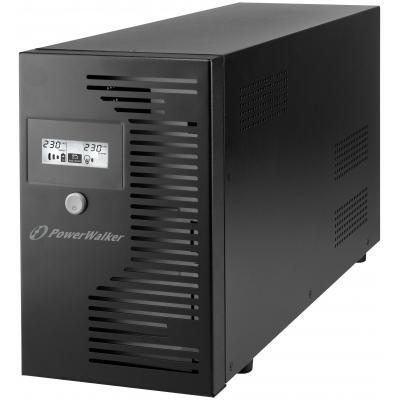 Bluewalker UPS: VI 3000 LCD IEC - Zwart