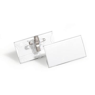 Durable 8121-19 Badge - Transparant