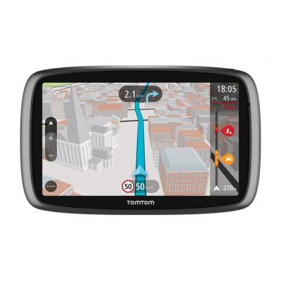 Tomtom navigatie: GO 610 - Zwart, Zilver