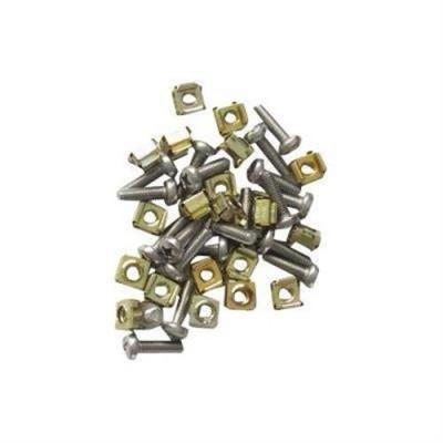 Eaton schroef en bout: M6 Cage Nut & Screw Kit, 20 Pcs - Grijs