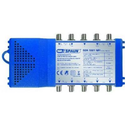 Spaun signaalversterker TV: SBK 5501 NFI - Blauw