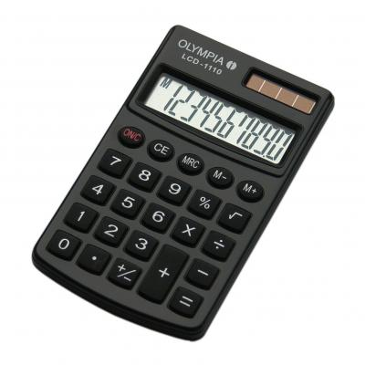 Olympia LCD 1110 Calculator - Zwart