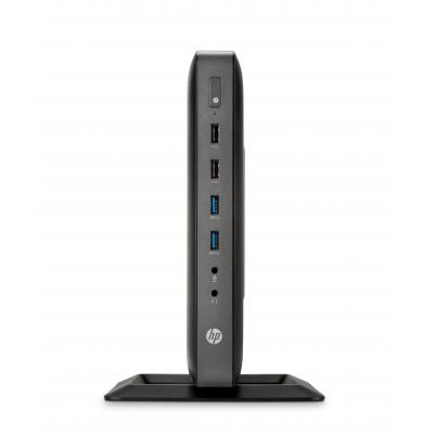 Hp thin client: t620 Flexible Thin Client - Zwart (Approved Selection Budget Refurbished)