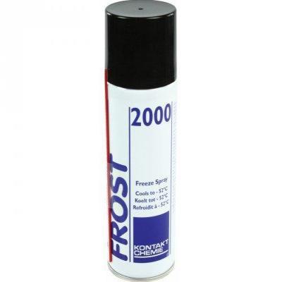 Kontakt chemie lucht verfrisser: FROST 2000 spray, 400 ml - Zwart