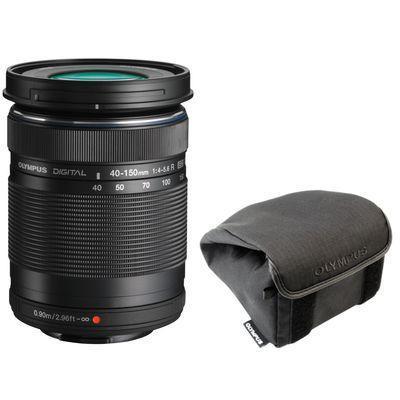 Olympus camera lens: M.ZUIKO DIGITAL ED 40-150 mm f4.0-5.6 R - Zwart
