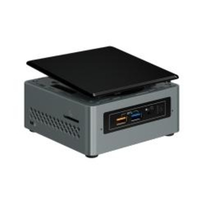 Intel NUC Kit NUC6CAYH Barebone - Zwart,Grijs