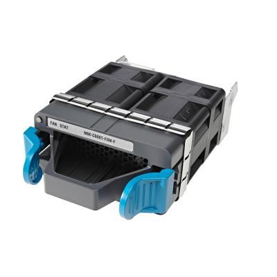 Cisco Nexus 6001 Fan Module, Front-to-Back (Port Side Exhaust) Airflow, spare Cooling accessoire - Zwart, Blauw
