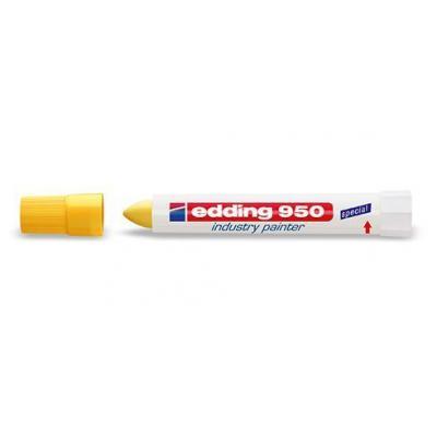 Edding marker: 950 - Wit, Geel