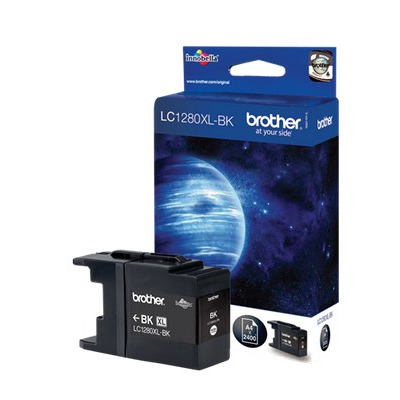 Brother inktcartridge: LC1280XLBK - Zwart