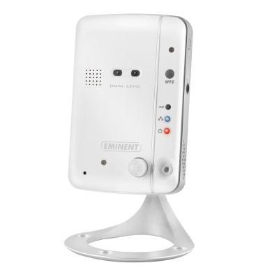 Eminent beveiligingscamera: Easy Pro View HD IP Camera - IEEE 802.11b/g/n 150 Mbps, Ethernet 10BaseT/100BaseTX, .....