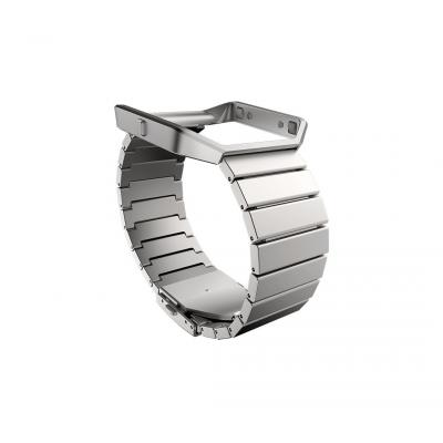 Fitbit : Metal Band + Frame, Stainless Steel, f / Blaze - Roestvrijstaal