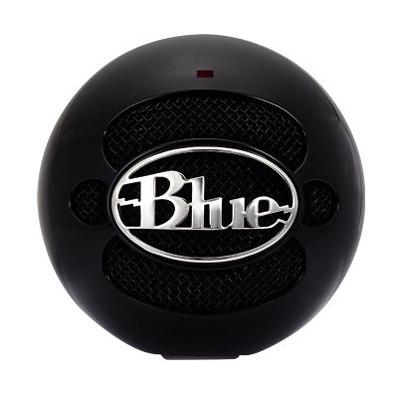 Blue Microphones Snowball Microfoon - Zwart
