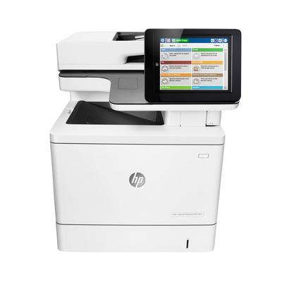HP Color LaserJet Enterprise M577f Laserprinter - Wit