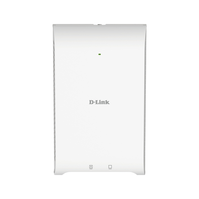 D-Link 2.4 GHz/ 5 GHz, 1200 Mbps, Wi-Fi 5, PoE, Wall-Plated Access point - Wit