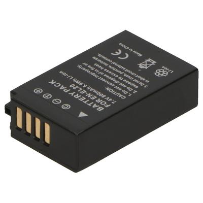 2-Power Digitale camera batterij 7,4V (1020 mAh - 7,5Wh) - Zwart