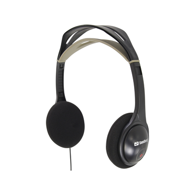 Sandberg HeadPhone One Headset - Zwart