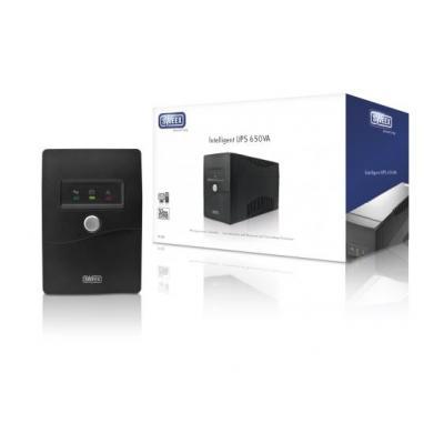 Sweex UPS: Intelligent UPS 650VA - Zwart