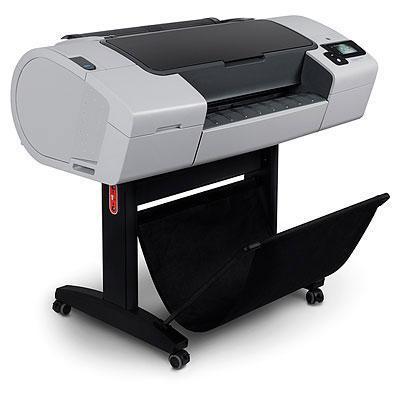 """HP grootformaat printer: Designjet T790ps 24"""" ePrinter  - Cyaan, Grijs, Magenta, Mat Zwart, Foto zwart, Geel"""