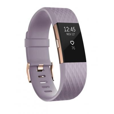 Fitbit wearable: Charge 2 - Goud, Lavendel