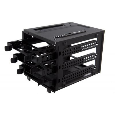 Corsair Computerkast onderdeel: Carbide 500R Case - Hard Drive Cage (3 drive trays included) - Zwart
