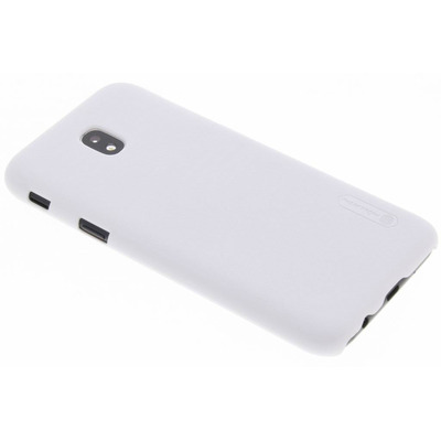Frosted Shield Backcover Samsung Galaxy J5 (2017) - Wit / White Mobile phone case