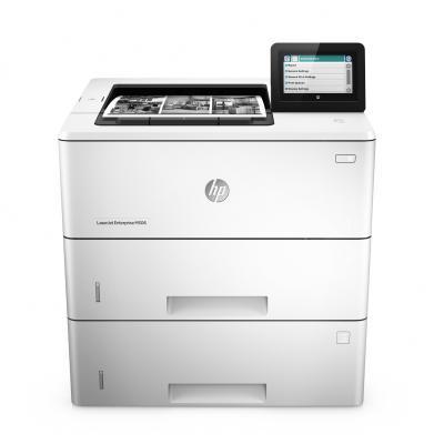 Hp laserprinter: LaserJet Managed M506xm - Zwart