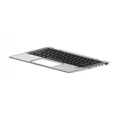 HP Keyboard/top cover (includes keyboard cable, top cover shielding, and magnets), for use with products equipped with .....