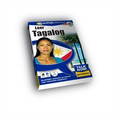Eurotalk educatieve software: Talk Now, Leer Tagaloc (Filipijns)