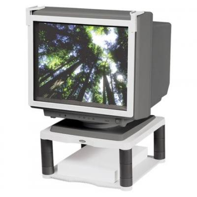Fellowes accesoire: Monitorstandaard Premium Grijs - Grijs, Wit