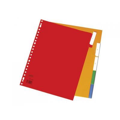 Staples schutkaart: Tabblad SPLS A4 23r venstertab kleur/se5