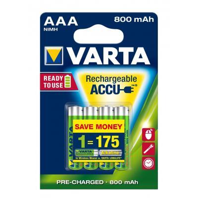Varta batterij: -56703B - Blauw, Groen
