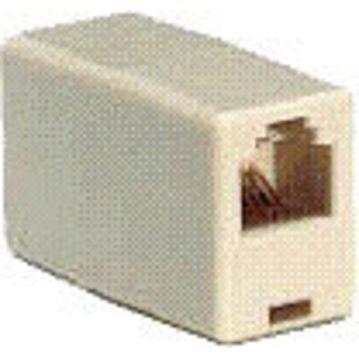 Microconnect Adapter RJ9-RJ9, Female/Female 4P Kabel adapter